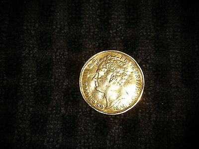 1823 George Iv Gold Two Pound / Double Sovereign
