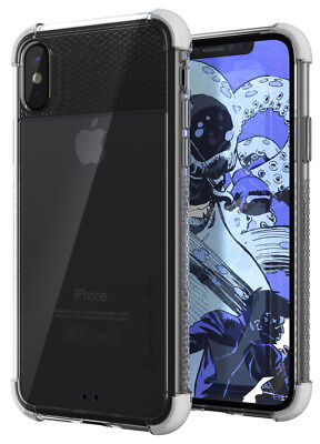 For iPhone X XS Case Ghostek COVERT Ultra Slim Clear Silicone Protective Cover