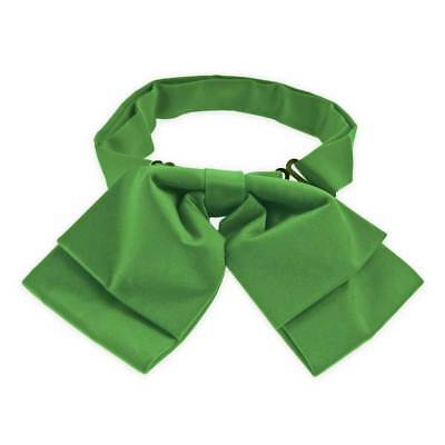 TieMart Irish Green Floppy Bow Tie