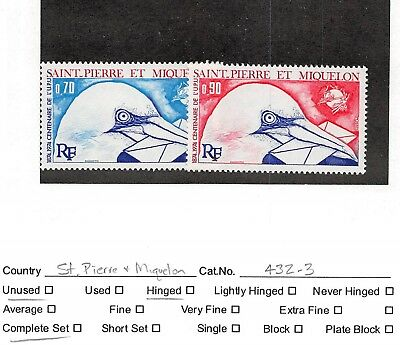Lot of 7 St. Pierre and Miquelon MH Mint Hinged Stamps #113214 X