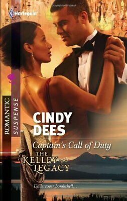 Captain's Call of Duty (Harlequin Romantic Suspense) by Dees, Cindy Book The