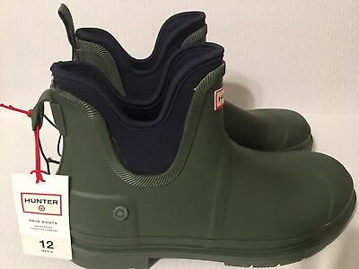 a0a99fc7ba1 HUNTER FOR TARGET rain boots Youth Sz 4(will Fit Women's 6.5) Floral ...