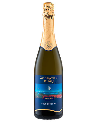 Cockatoo Ridge Sparkling Brut Cuvee Champagne Sparkling 750mL case of 6