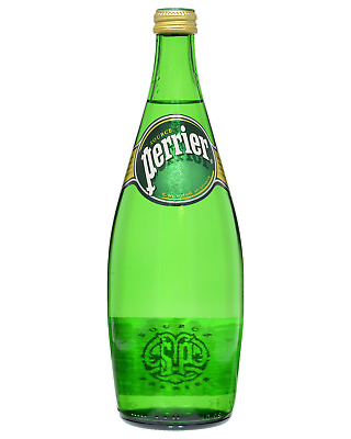 Perrier Natural Mineral Water 750mL Other Drinks Screw Cap case of 12