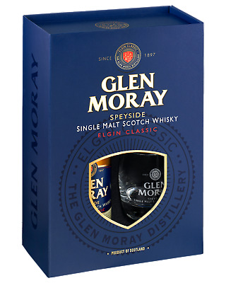 Glen Moray Classic Scotch Whisky Glasses Gift Pack Gifts 700mL pack