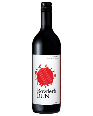 Bowler's Run Shiraz Red Wine 750mL case of 6