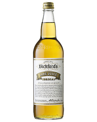 Bickford's Lime Juice Cordial 750mL Other Drinks bottle