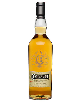 Cragganmore 25 Year Old Scotch Whisky 700mL bottle