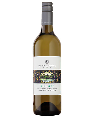 Deep Woods Hillside Semillon Sauvignon Blanc White Wine 750mL bottle