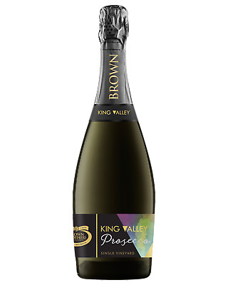 Brown Brothers Single Vineyard King Valley Prosecco Champagne Sparkling 750mL bo