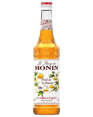 Monin Passionfruit Syrup 700mL Other Drinks
