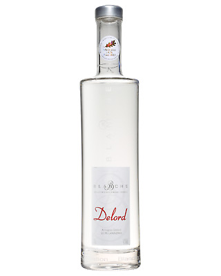 Delord Armagnac Blanche 700mL Spirits case of 12