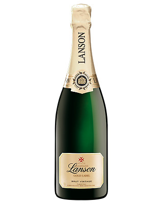 Lanson Gold Label Vintage Brut Champagne Sparkling 750mL case of 6