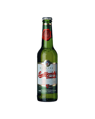 Budvar Light In Alcohol Beer Other Drinks 330mL case of 24