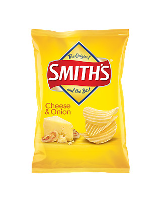 Smith's Crinkle Cut Cheese & Onion Chips 175g Other Drinks pack