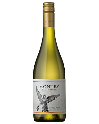 Montes Classic Series Chardonnay White Wine Rapel Valley 2017 750mL case of 6