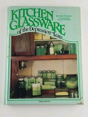 Collectors Kitchen Glassware of the Depression Years. 88.