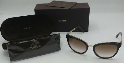 0863feb5b9519 Tom Ford Emma TF461 52G Sunglasses Authentic 56 19 130 2-1.6 Tortoise