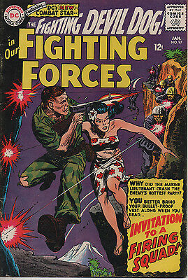 OUR FIGHTING FORCES 97 Jan 1966 DC Silver Age 5.5 FN-
