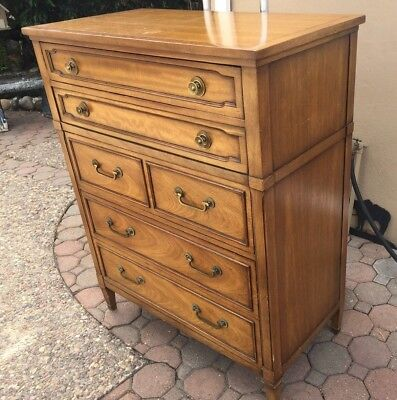Vintage Drexel Triune Mahogany Chest of Drawers 505-410-2