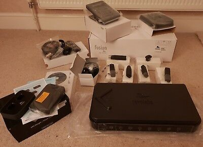 REVOLABS FUSION 8 CHANNEL SYSTEM 01-8FUSIONEU-NM !!BUNDLE!! Wireless Microphone