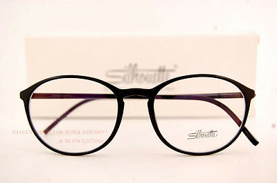 ee1a1bf007 New Silhouette Eyeglass Frames SPX ILLUSION 2889 6050 Black Women Men SZ 51