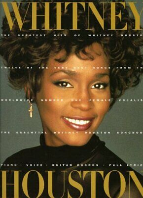 Greatest Hits: Whitney Houston (Piano Vocal Guitar) Paperback Book The Cheap