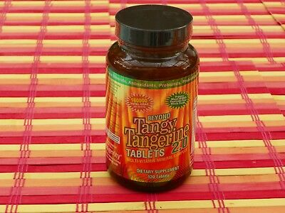 Carol BTT 2.0 Beyond Tangy Tangerine Tablets 120 Tablets by Youngevity Free Ship