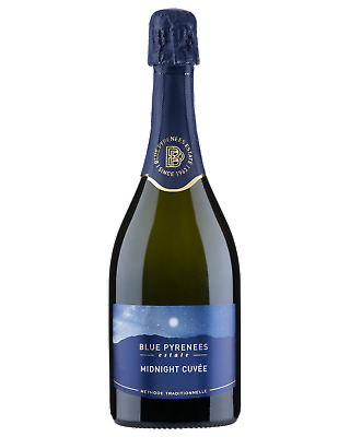 Blue Pyrenees Midnight Cuvee Champagne Sparkling 2015 750mL case of 6