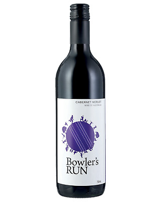 Bowler's Run Cabernet Merlot Red Wine 750mL bottle