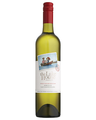 The Lake House Semillon Sauvignon Blanc White Wine Great Southern 2014 750mL bot