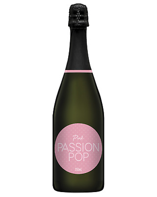 Passion Pop Pink Champagne Sparkling 750mL case of 6