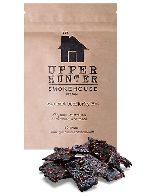 Upper Hunter Smokehouse Beef Jerky Hot Accessories