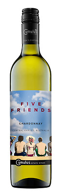 Five Friends Chardonnay 2016 White Wine Central Ranges, NSW 750mL case of 6
