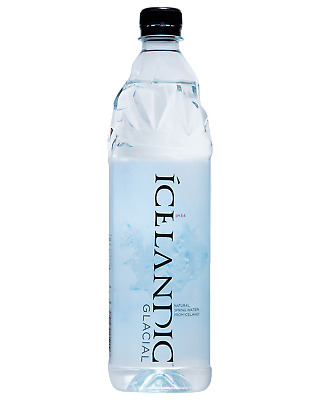 Icelandic Glacial 1LSuper Premium Spring Water pH 8.4 Other Drinks case of 12