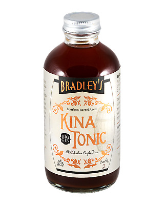 Bradley's Barrel Aged Kina Tonic Syrup 237mL Other Drinks bottle