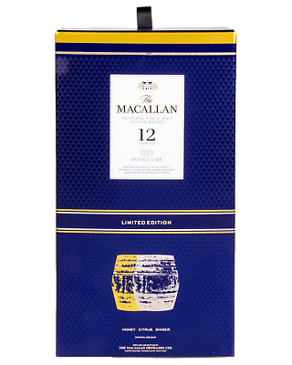 Macallan Double Oak 12Year Old 700mL & Two Glass Pack Gifts pack