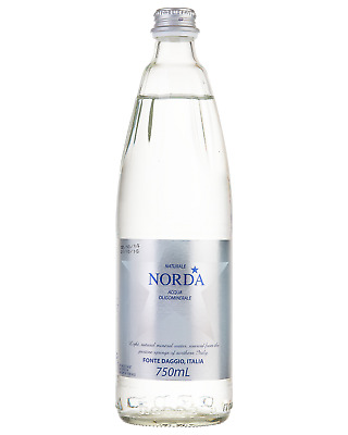 Norda Naturale Still Mineral Water 750mL Other Drinks case of 12