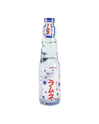 Kimura Ramune Marble Lemonade Other Drinks 200mL case of 18