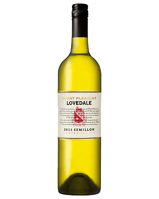 Mount Pleasant Lovedale Semillon White Wine Hunter Valley 2013 750mL case of 6