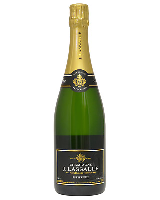J.Lassalle Preference Brut Champagne NV Champagne Sparkling 750mL bottle