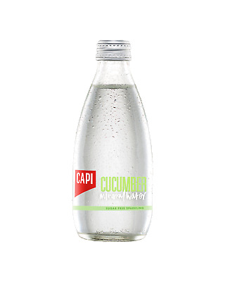 CAPI Cucumber Infused Mineral Water 250mL Other Drinks case of 24