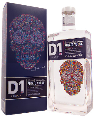 D1 London Potato Vodka 700mL Spirits bottle