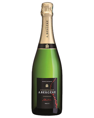 A.Bergere Brut Cuvee Champagne Sparkling Non Vintage 750mL case of 6