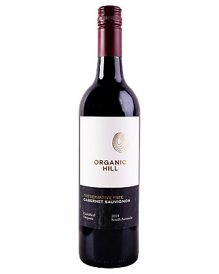Organic Hill Preservative Free Cabernet Sauvignon 2017 Red Wine Riverland 750mL