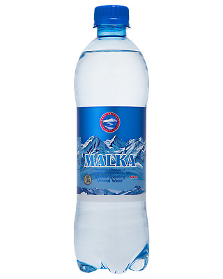 Malka Natural Sparkling Mineral Water Other Drinks 500mL case of 12