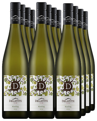 Delatite Estate Riesling Mixed Dozen 2013 2014 2015 White Wine Upper Goulburn 75