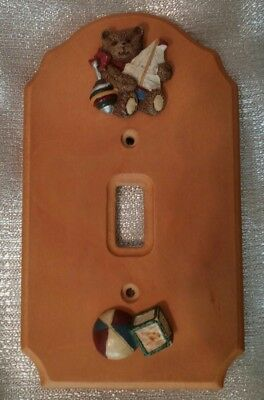 Teddy Bear Switch Plate Cover, for single switch