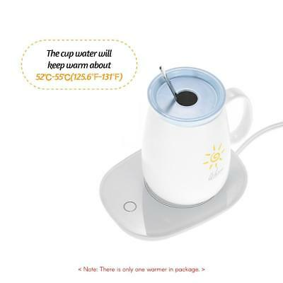 Coffee Mug Warmer Electric Cup Warmer with Auto Shut Off Switch for Home Office