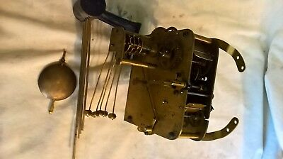 Antique Westminster Chiming Clock Movement